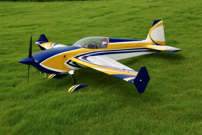 "NEW Skywing 89"" Extra 300 V2 -B  Yellow - Covered"
